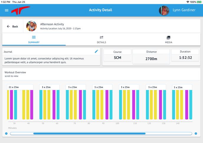 11″ iPad Pro - Workout Summary - Tabbed - Summary (1)