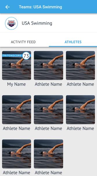 Teams - Team Feed - Athlete View - Mobile (1)